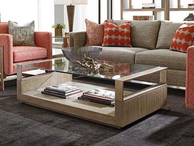 725-945 CENTER长方形家具-客厅-茶几